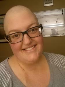 Baldy girl